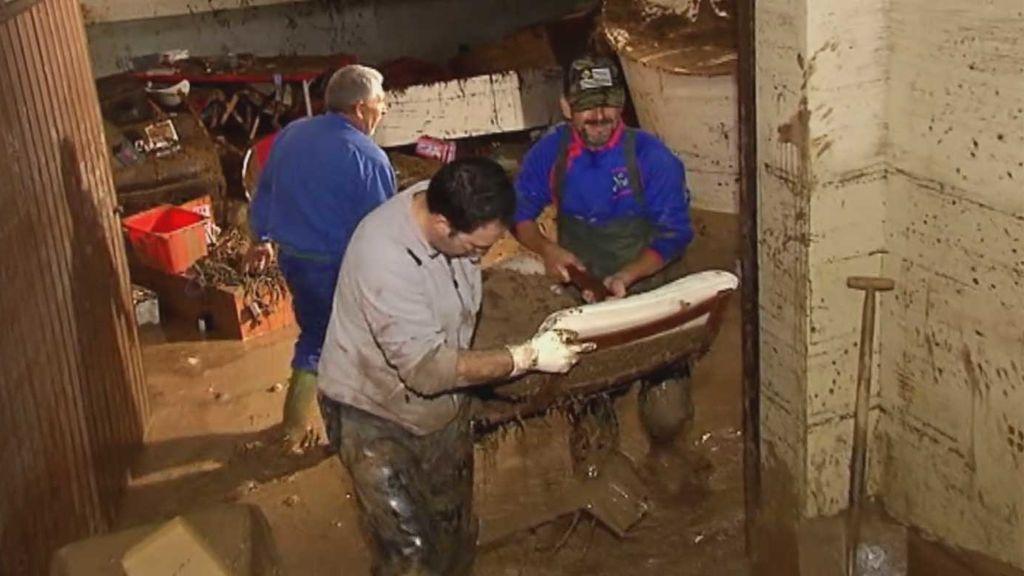 Desastre total en Campillos después de la peor tromba de agua caída nunca en Málaga