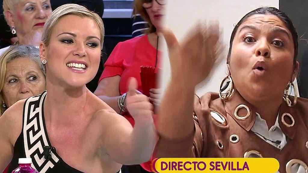 """""""Embustera"""" y """"basura"""": Saray Montoya llega a 'Sálvame' para destruir a María Jesús Ruiz"""