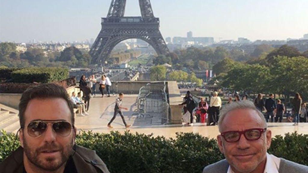 Raúl Prieto y Joaquin Torres no se esconden: Su fin de semana en París