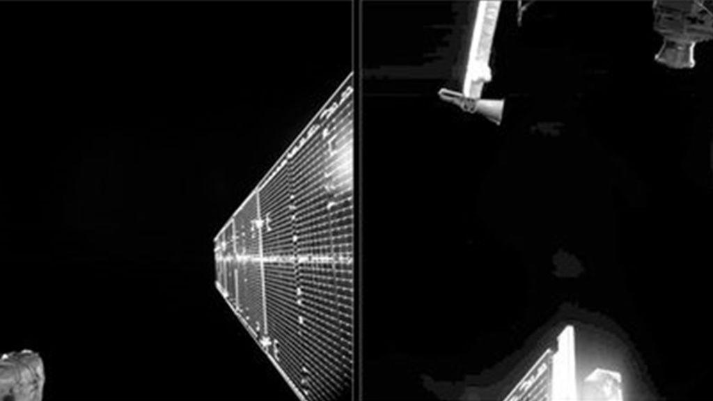 La nave BepiColombo envía sus primeros 'selfies' desde el espacio