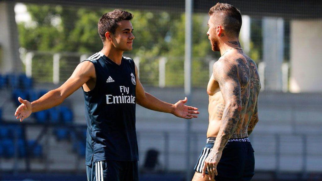 El tuit premonitorio de Reguilón sobre su 'pelea' con Sergio Ramos en el entrenamiento del Real Madrid