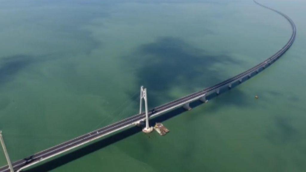 El puente sobre el mar más largo del mundo