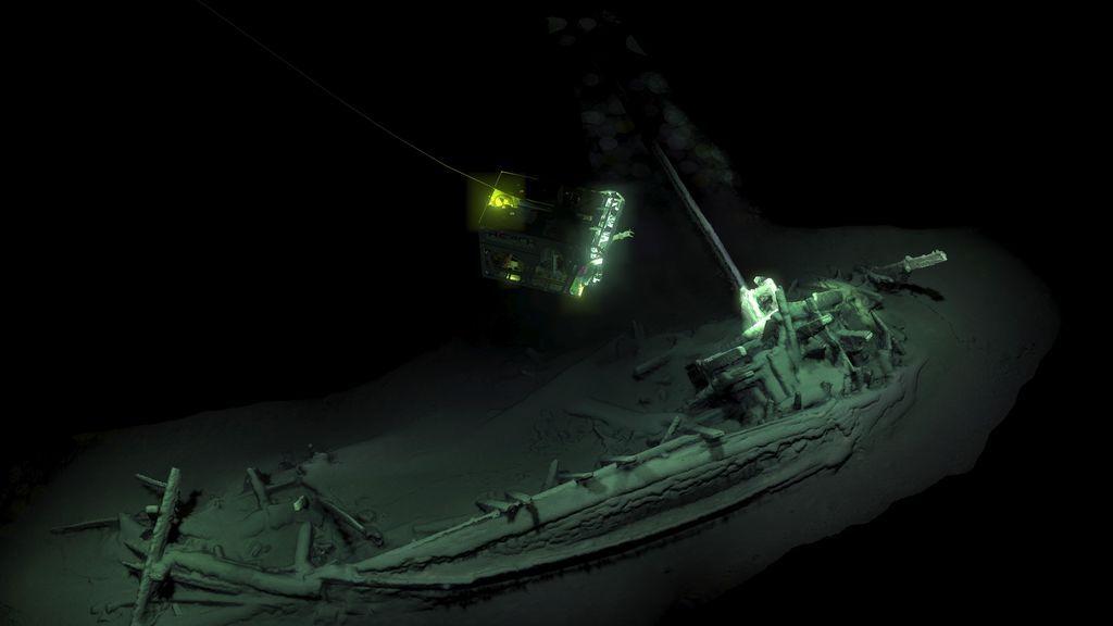 El barco de la melodía de la muerte, el más antiguo del mundo, encontrado