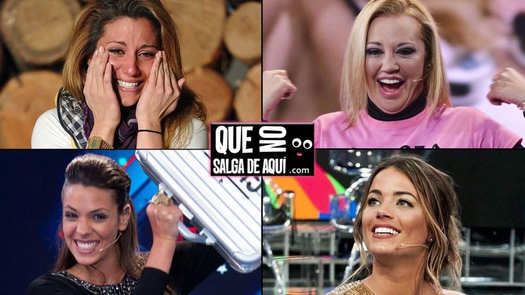 Nagore, Belén, Laura y Alyson: ¿Qué une a las cuatro ganadoras de reality en Telecinco?