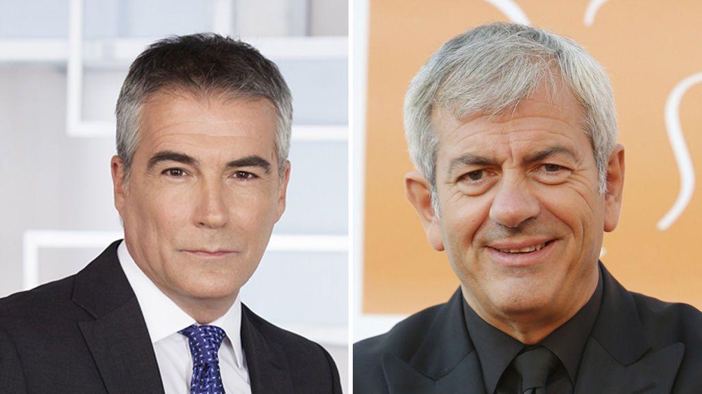 David Cantero y Carlos Sobera, galardonados con la Antena de Oro.