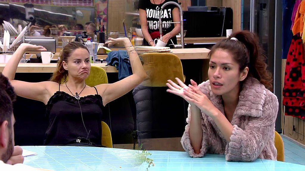 """Miriam se ofrece a sustituir a Ángel en la cocina y Mónica monta en cólera: """"Que ella cocine para mí, no"""""""