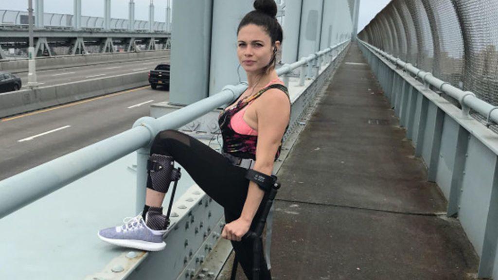 Hace dos años se rompió la espalda escapando de un violador y ahora correrá la maratón de Nueva York
