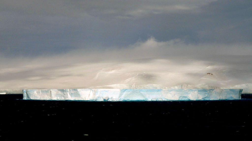 La NASA encuentra un iceberg perfecto: te explicamos de qué se trata