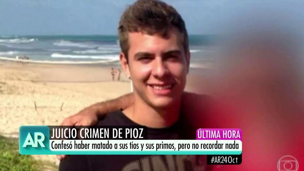 Crimen Pioz: Patrick Nogueira insinúa que mató a su familia porque no querían vivir más con él
