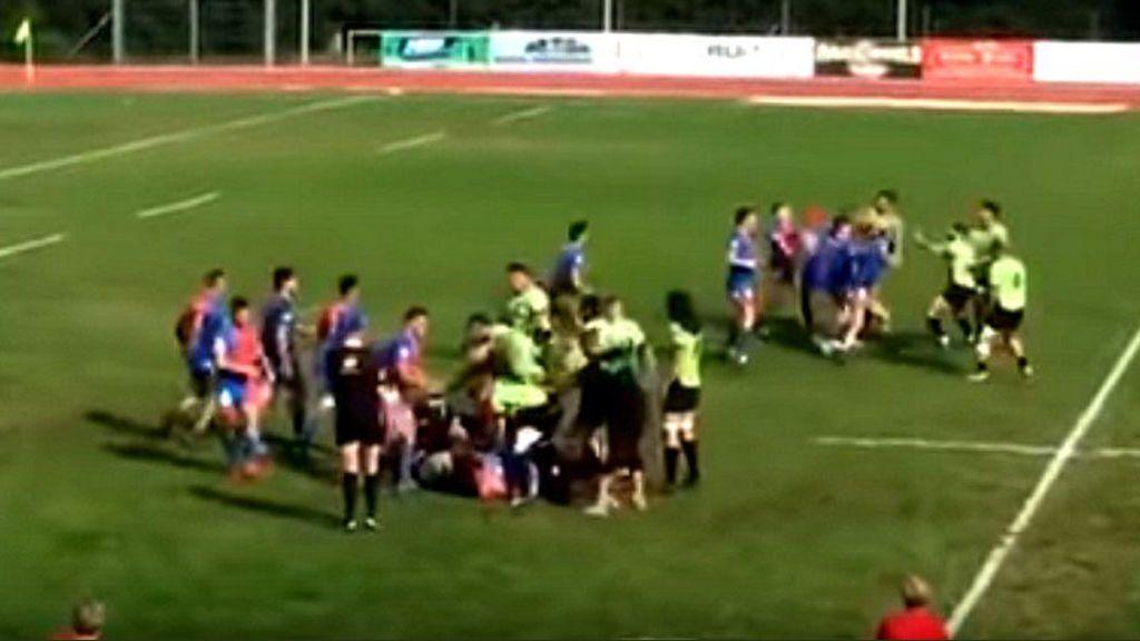 Varios heridos por arma blanca tras una vergonzosa pelea en un partido de rugby amateur de Francia
