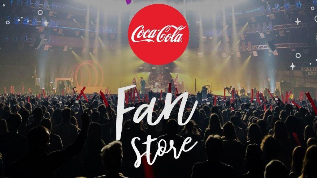 Vuestros artistas de #CCME han querido recompensaros:  ¡Llega Coca-Cola Fan Store!