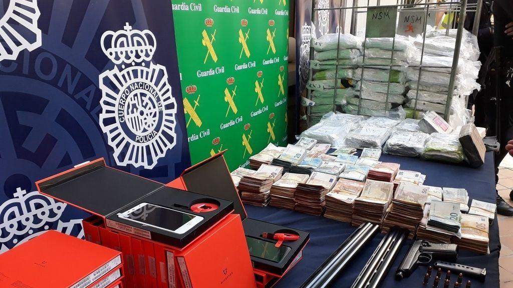 Intervienen 6000 kilos de cocaína ocultos en bananas