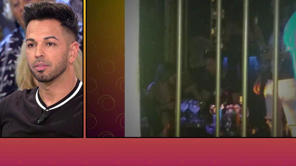 Un testigo afirma que Chabelita y Toni Casetas han disfrutado de una noche entre besos y bailes