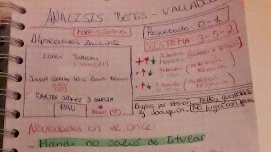 Teresa, aficionada del Betis de 13 años, analiza los partidos de su equipo como una profesional