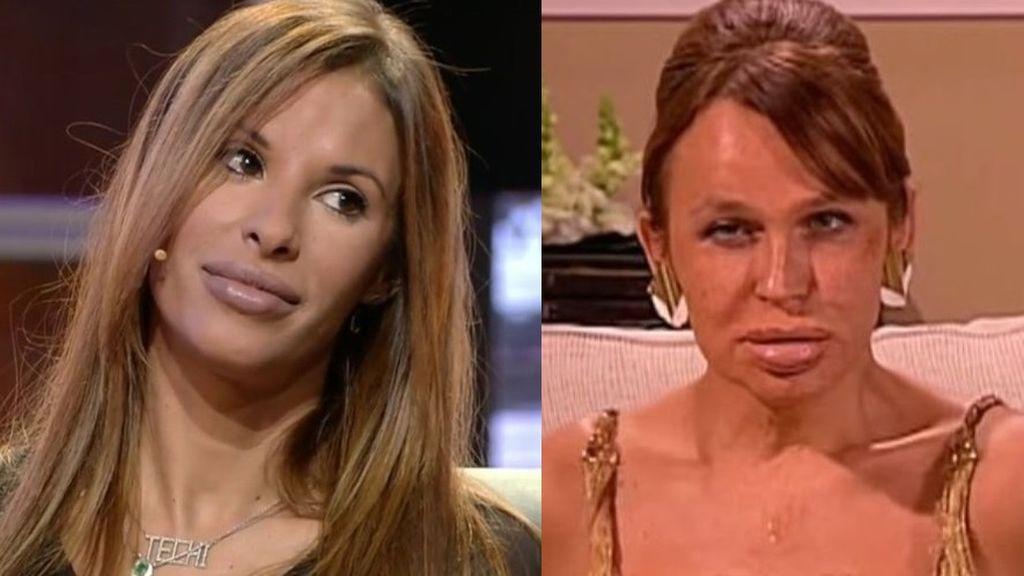 ¿Estela Reynols o Carmen de Mairena? Los memes más divertidos de la nueva cara de Techi