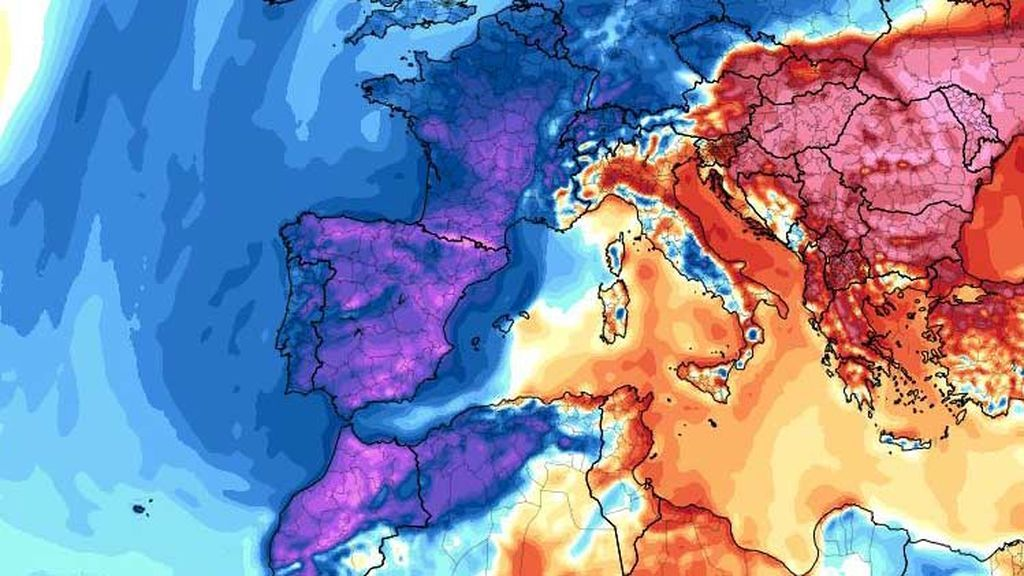 Las mínimas del viernes serán las máximas del domingo: el frío que va a hacer, por zonas
