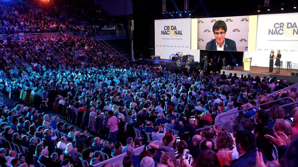"""Puigdemont lanza la Crida para concretar la república: """"No nos hemos rendido"""""""