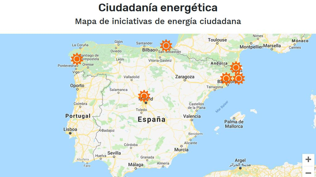mapa de ciudadanía energética