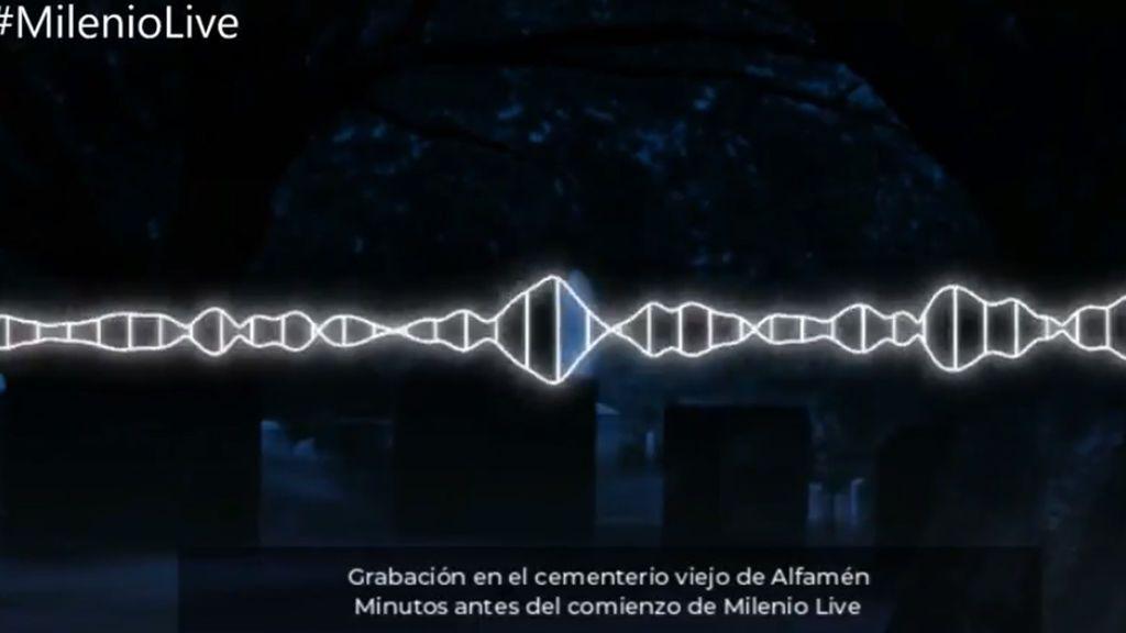 Las psicofonías grabadas en el cementerio viejo de Zaragoza durante  \'Milenio Live\'