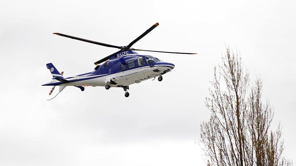 El helicóptero del dueño del Leicester se estrella a las afueras del estadio