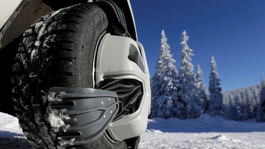 Cadena de nieve de tensión automática