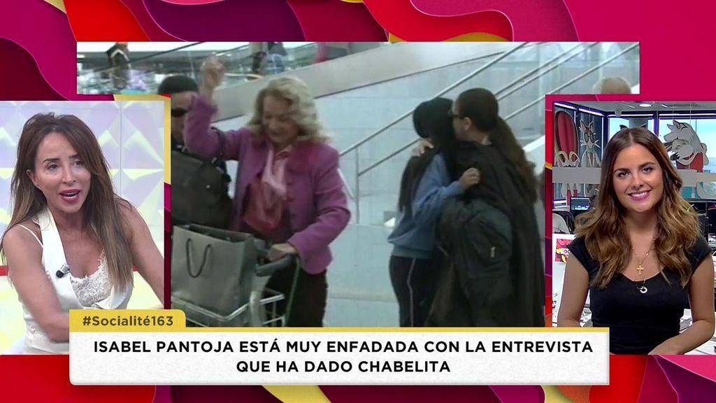 Todos los motivos del enfado de Isabel Pantoja por la entrevista de su hija en el Deluxe