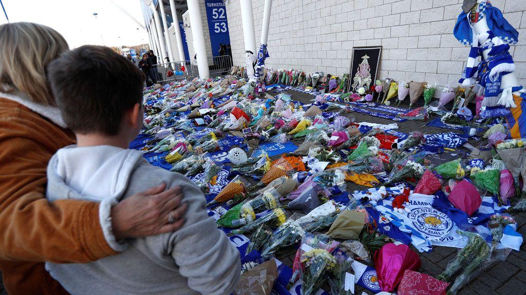 La BBC afirma que el dueño del Leicester estaba a bordo del helicóptero accidentado