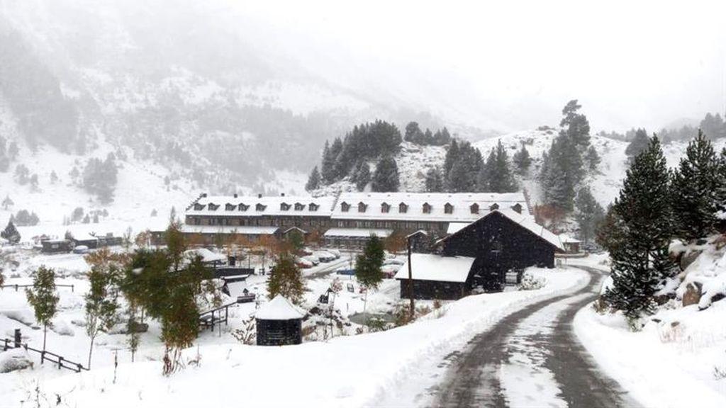 La nieve ya pisa algunas provincias de España