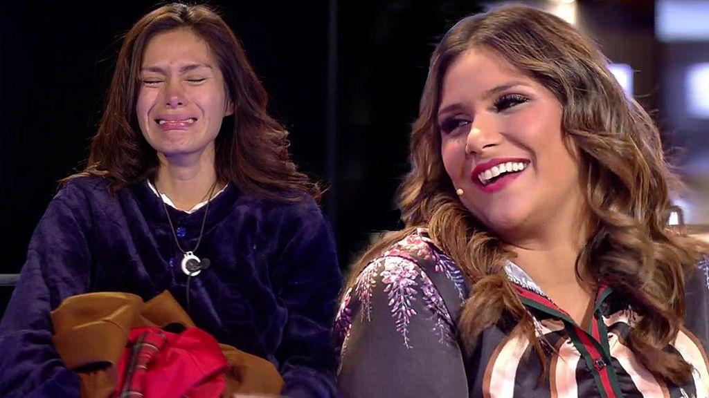 Katy, amiga de Miriam Saavedra, calla las críticas con un bonito regalo junto a la ropa de invierno