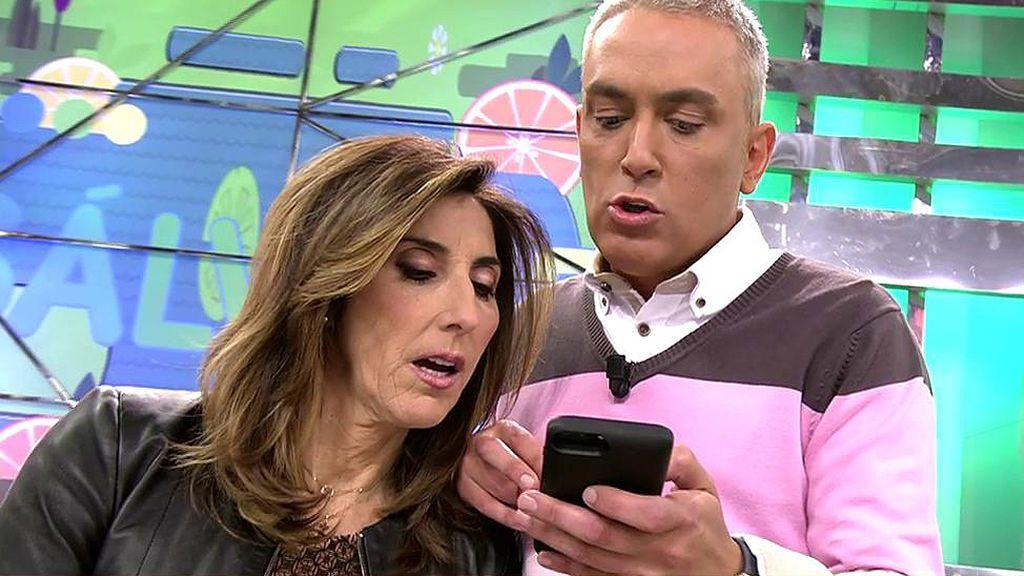 """La supuesta novia de Omar Montes difunde sus conversaciones: """"Lo mío con Chabelita es un montaje"""""""