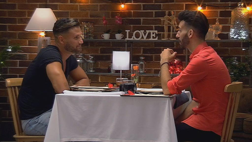 Paco y José en 'First dates'.