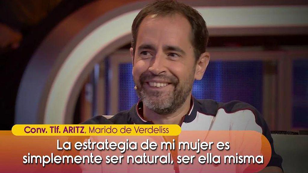 "Aritz, marido de Verdeliss: ""La estrategia de mi mujer es ser natural"""