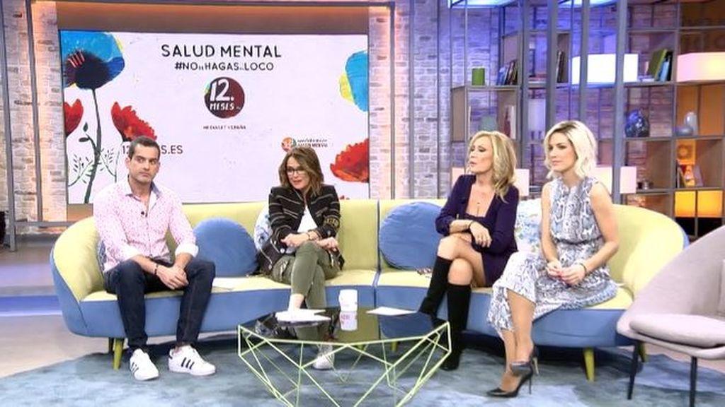 """Toñi Moreno, sobre salud mental en 'Viva la vida':  """"Es muy importante que se acuda a terapia"""""""