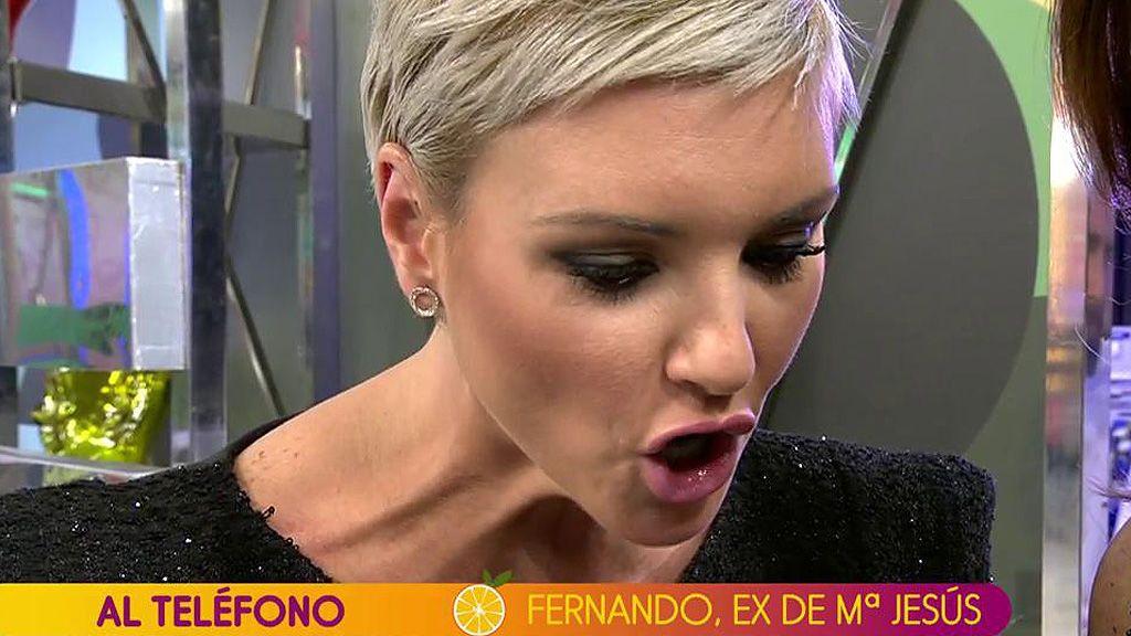 """María Jesús Ruiz 'brota' contra su ex: """"Te dejé porque supe que había una mujer que estaba embarazada"""""""