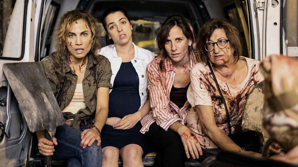 Toni Acosta, Nuria Herrero, Malena Altero y Mamen García, protagonistas de 'Señoras del (h)AMPA'.