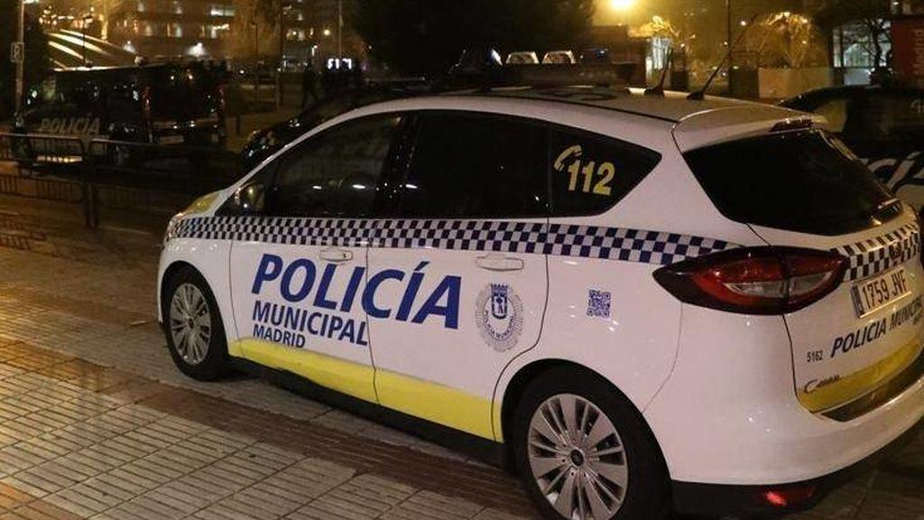 Detenido por pegar a su pareja en el barrio de Carabanchel