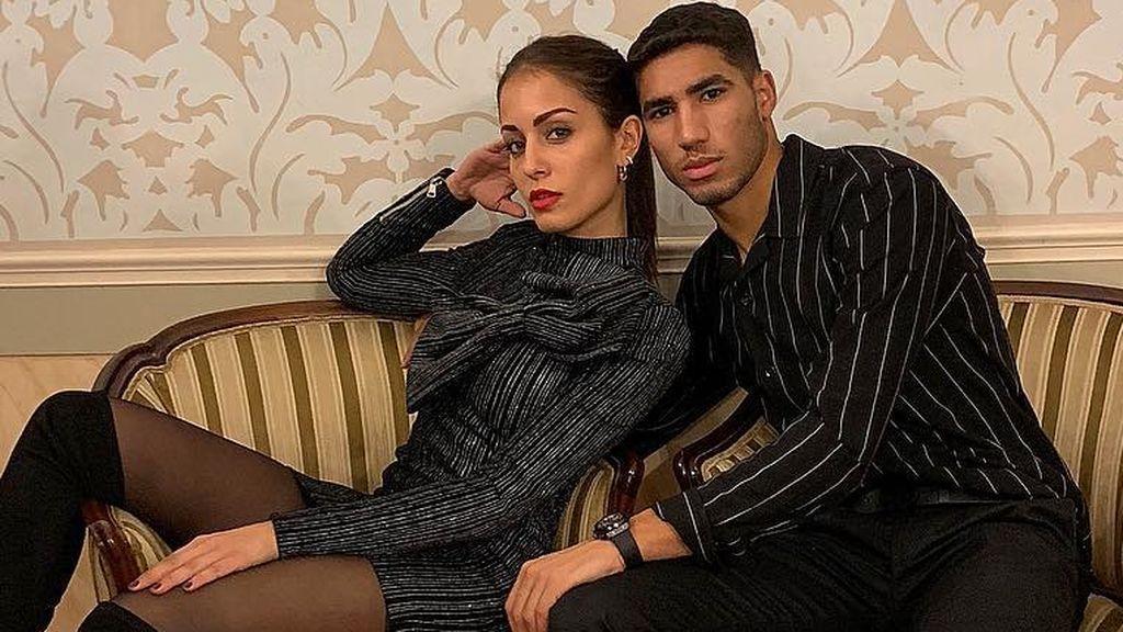 """Achraf Hakimi confirma su relación con Hiba Abouk: """"Quiero recordarte lo importante que eres mi vida"""""""