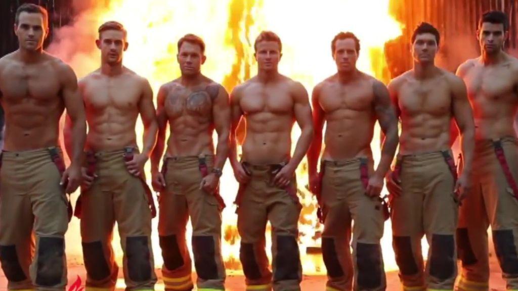 Los bomberos australianos vuelven a liarla con su calendario solidario
