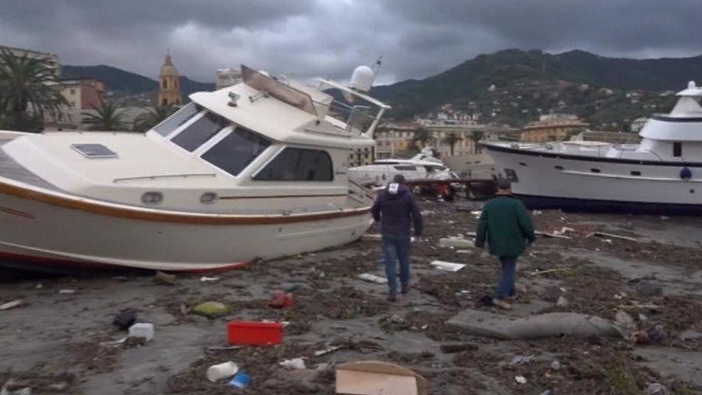 Italia se inunda por un temporal que deja ya once muertos