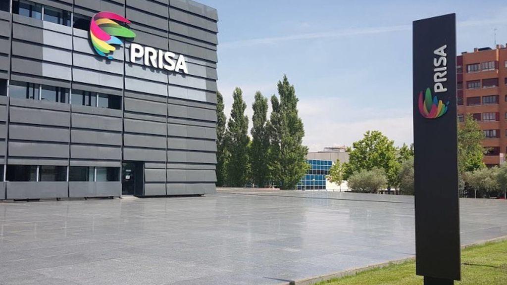 Sede del grupo Prisa en Tres Cantos (Madrid).