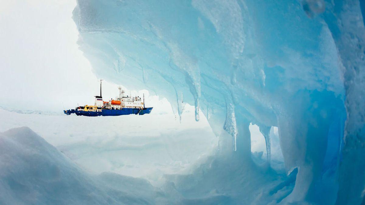 Locura en una base rusa en la Antártida: un científico apuñala a su compañero harto de que le destripase el final de los libros