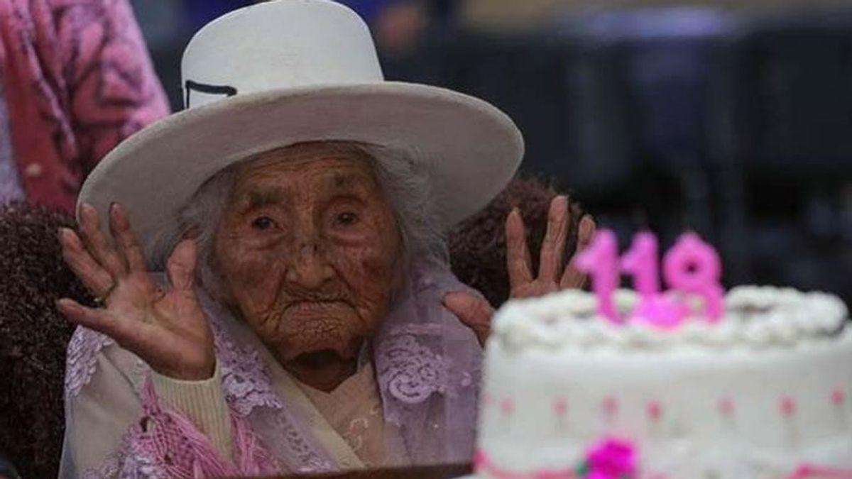 Así es la dieta de Julia Flores Colque a sus 118 años: pocos procesados y sopas con carne y patatas