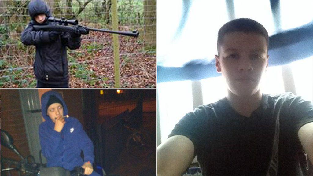 Kash Parkinson, el joven de 18 años que con 44 condenas acumula un historial delictivo de récord