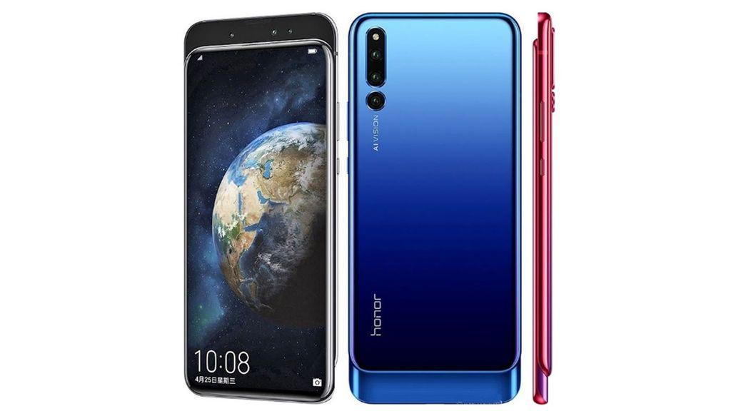 Huawei presenta el Honor Magic 2 con seis lentes y cámara frontal retráctil