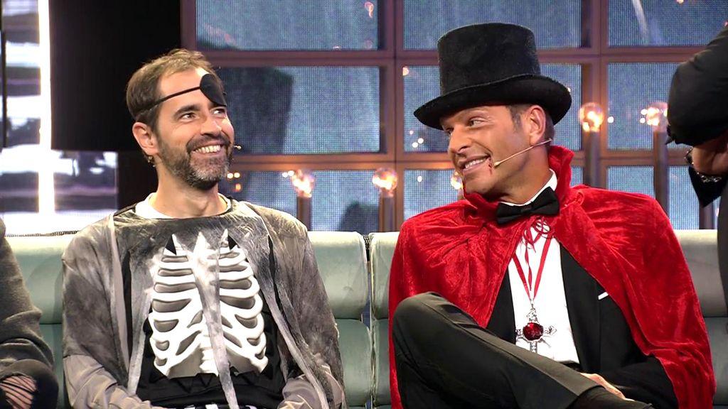 Los disfraces de Halloween en el plató de GH VIP