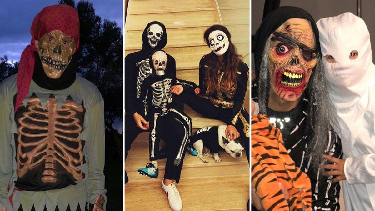 Los disfraces más terroríficos de los deportistas en Halloween