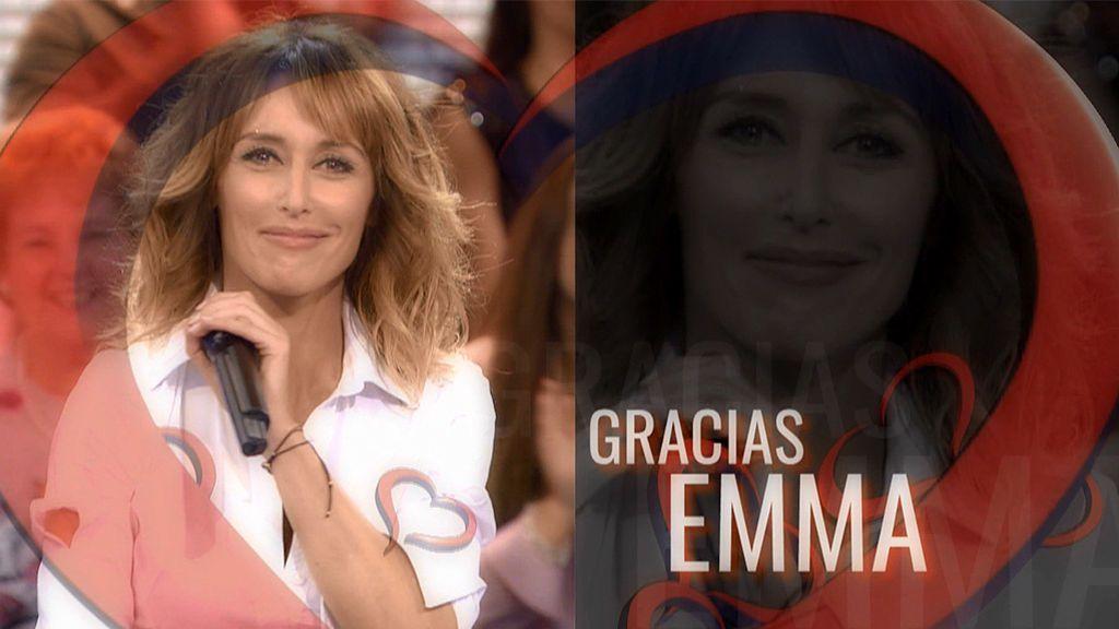 Los mejores momentazos de Emma García en 'MyH': el equipo lo ha preparado con mucho cariño