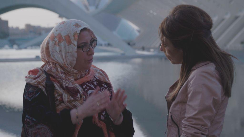 Ana Terradillos en el segundo programa de 'España mira a La Meca: Mujer e Islam'.