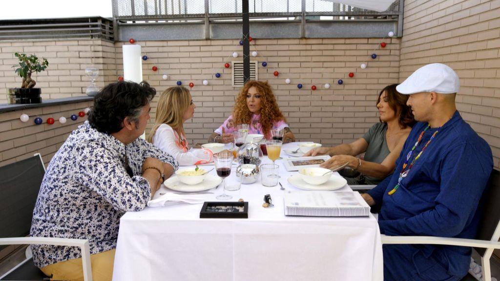 Cena de Sofía Cristo en 'Ven a cenar conmigo: gourmet edition'.