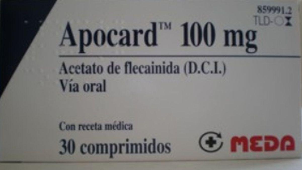 Sanidad alerta: no habrá unidades suficientes de medicamentos con flecainida en meses